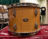 1970s Slingerland 9x13 Natural Maple 5 ply Tom Drum