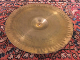 "14"" Vintage ZIldjian A Trans Stamp Hi Hat / Crash Cymbal Single 750g #590"