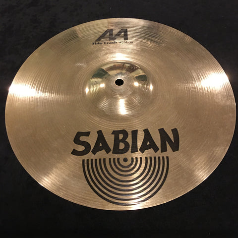 "14"" Sabian AA Brilliant Thin Crash Cymbal"