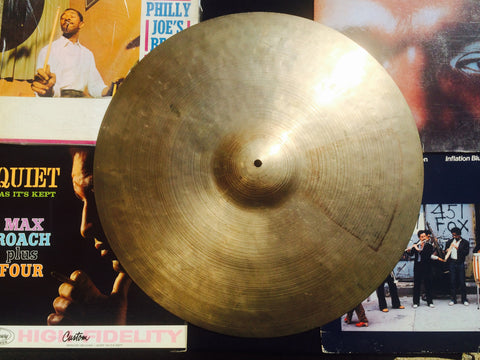 20″ 1960's Zildjian K Ride Turkish Hand Hammered Cymbal 2026g #168