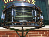1969 Ludwig Standard Avocado Strata Snare Drum - 5x14