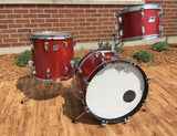 Ludwig 1970's Jazzette Bop Set - Red Sparkle