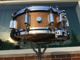 "Vintage 1966 Rogers Wood Dynasonic Snare Drum 5""x14"" Champagne Sparkle"