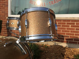 "1961-62 Camco Oaklawn Peacock Pearl Sparkle ""New Tuxedo Outfit"" Drum Set"