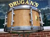 "Bison Snare Drum - Early Production Symphonic Model 7""x14"""