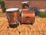 Kumu All Mahogany Limited Drum Set in Natural Mahogany from Finland