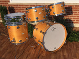 1970's Camco Natural Maple Los Angeles 24/13/14/16 w/10 lug Snare - Beautiful!