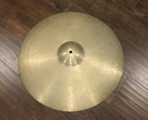 "21"" Zildjian A 1950's Large Block Stamp ""Sweet Ride"" Ride Cymbal 2218g #204"