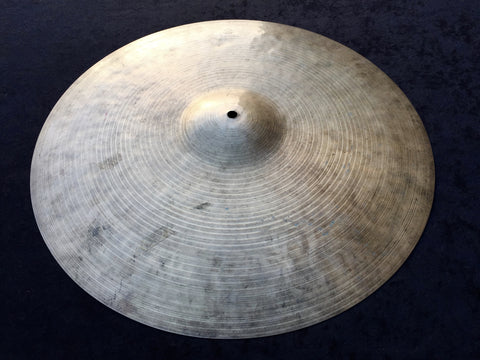 "18"" 1960's Zildjian K Istanbul New Stamp Ride / Crash-Ride Cymbal 1508g - Inventory # 307"