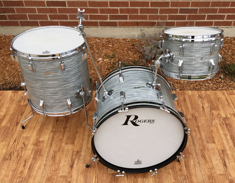 Rogers 1966 Steel Gray Ripple Swingtime Outfit 20/12/16