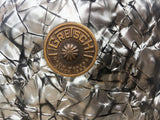 1960s Gretsch Round Badge 8x12 Progressive Jazz Tom Black Diamond Pearl # 1