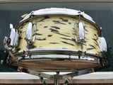 Ultra Rare Slingerland White Tiger Pearl 5.5x14 3 Ply Artist Snare Drum