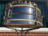 "Vintage 1920s 5""x14"" Ludwig Universal Model Snare Drum"