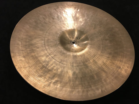 "20"" 1959 Zidljian Istanbul K Hand Hammered Turkish Ride Cymbal Intermediate Stamp 1740g"