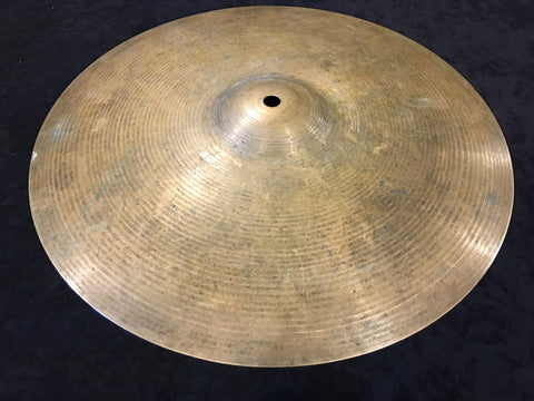 "14"" Vintage Paiste Formula 602 Pre Serial # Hi Hat Cymbal Single 946g #361"