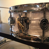 Pacific PDP 5x14 CX Series Snare Drum White Onyx