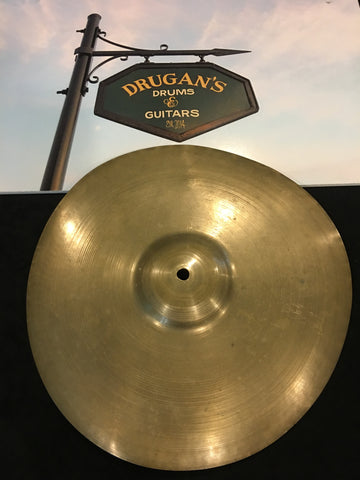 "13"" Zildjian A 1929-40 First Stamp Splash Cymbal 470g #408"