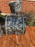 "Leedy 1960 Black Diamond Pearl Bop Drum Set 18"" Bass"