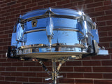 1960's Ludwig Super Sensitive Keystone Snare Drum 5x14