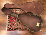 1950s/60s Gibson ES Brown Alligator Guitar Case ES125T / ES225T / ES330 / ES335
