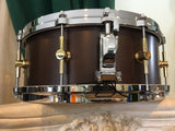 "Canopus NV60-M1 Neo-Vintage 5.5""x14"" Snare Drum - Bitter Brown"
