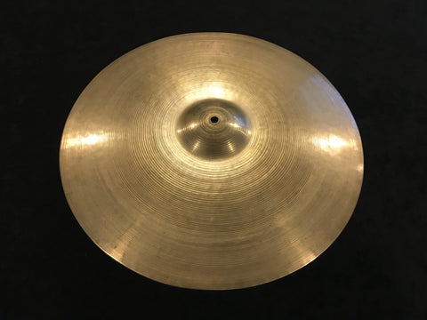 "16"" Zildjian A Early '50s Trans Stamp Crash Cymbal 844g #436"