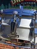 Ludwig 1977/78 Acrolite 5x14 Snare Drum Blue & Olive Badge