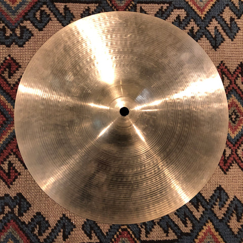 "12"" Zildjian A 1970s Hi-Hat Single / Splash Cymbal 694g #608"