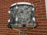 1960's Slingerland 9x13 Tom Drum Black Diamond Pearl
