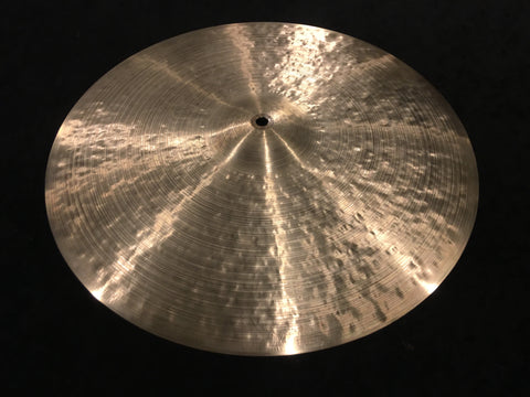 "18"" Craig Lauritsen Rustico Hand Hammered Artisan Crash-Ride Cymbal 1538g"