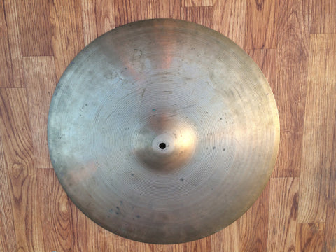 "19"" 1960's Zildjian A Crash-Ride Cymbal 1708g - # 102"