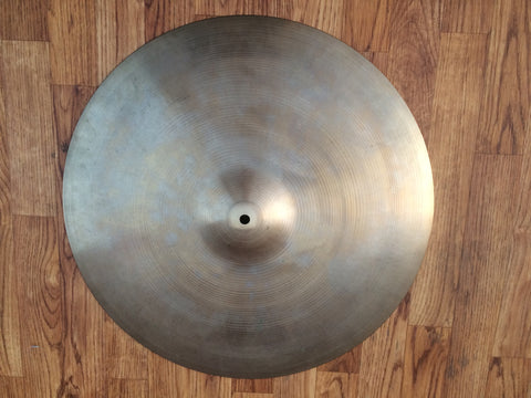 "*No longer available* 20"" 1970-73 Zildjian A Ride Cymbal -  Inventory # 16"