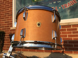 1967 Ludwig Thermo-Gloss Natural Maple Bop Drum Set 18/12/14