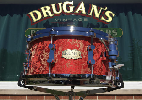 Kumu 6x14 Custom Red Dragon One-Off NAMM Snare Drum