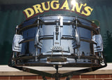 Vintage 1963 Ludwig Supraphonic Crome Over Brass 5x14 Snare Drum Pre Serial #