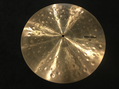 "18"" Paiste 1981 Sound Creation Dark Crash Cymbal 1782g #478"