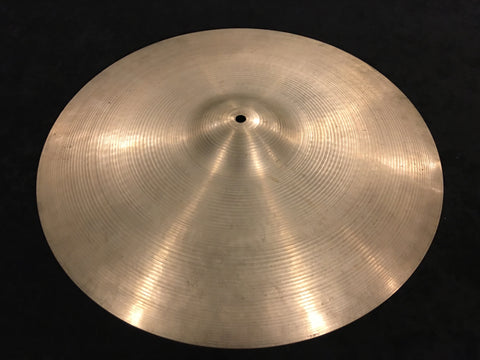 "20"" 1960s Zidljian A Crash / Ride Cymbal 1746g #491"