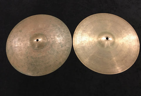 "14"" Zildjian K Istanbul 1959 Hand Hammered Hi Hat Cymbal Pair 720/836g #73"
