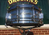 "1960s Rogers Dyna-Sonic Script Logo Snare Drum 5""x14"" Brass Shell"