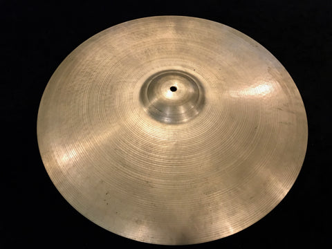"22"" Zildjian A 1950's Hollow Block Large Stamp Ride Cymbal 2574g #523"