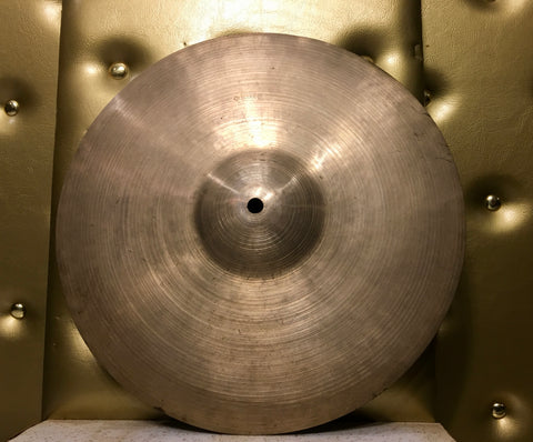 "12"" 1940's A Zildjian 2nd Stamp (Pre-Trans Stamp) Splash / Crash Cymbal EX THIN 362g #237"