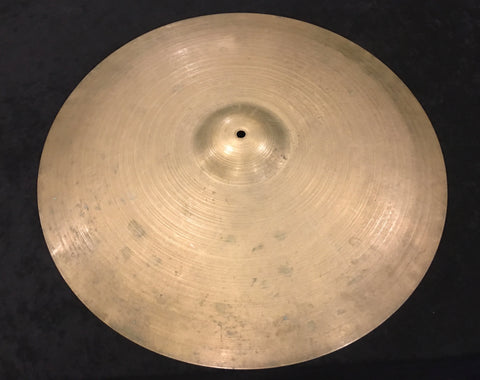 "24"" Zildjian A Early 1960's Light Ride Cymbal 3184g #539"