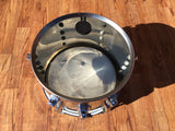 1970's Ludwig Stainless Steel 8x12 Tom Drum