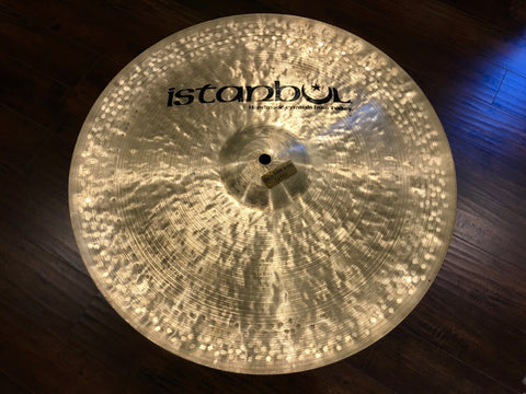 "16"" Istanbul Pre Split Turkish China Cymbal - Rare - 834g"