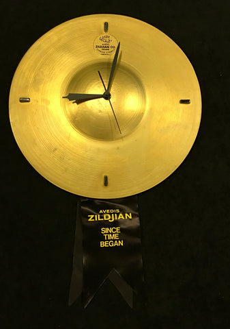 "Vintage Avedis Zildjian ""Since Time Began"" Dealer Display Clock - Rare Find! NOS"