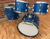 1968 Slingerland New Rock Outfit No. 50 N Blue Agate Catalog Set