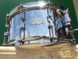 "Kumu 6.5""X14"" Chrome Over Brass Snare Drum"