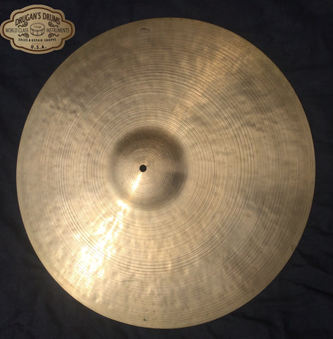 "20"" Incredible Vintage Zildjian K Istanbul 1876 g Inventory # 155"