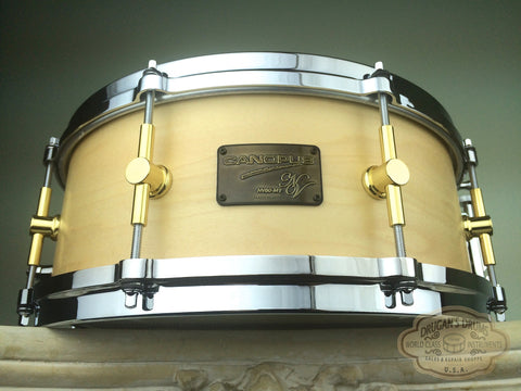 "Canopus NV60-M1 NEO-Vintage 5.5""x14"" Snare - Natural Oil"