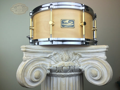 "Canopus ""The Maple"" Snare 6.5""x14"" - Natural Oil"
